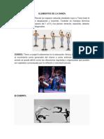Elementos de La Danza 2017