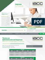 Técnico en Administración de Empresas - Mención Contabilidad y Finanzas