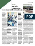 Seis de cada 10 escuelas privadas son de bajo costo y en su mayoría de subsistencia - María Balarin y Hugo Ñopo - Gestión - 140817
