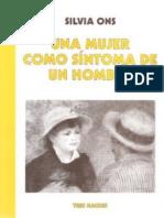 Una Mujer Como Síntoma de Un Hombre-Silvia Ons