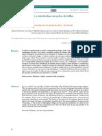 Ocorrência de Fungos e Micotoxinasemgrãos de Milho (Zea Mays L.) EmJataí-GO, Brasil (34-39)