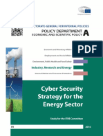 Cybersecurity in the Energy Department