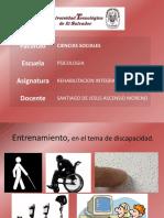 Unidad 1 - Discapacidad y Sexualidad