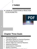 CHAPTER 03 Chemical Equation and Reaction Stoichiometry