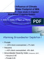 Water Footprint of Milk Production