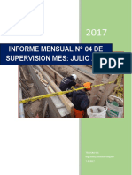 INFORME MENSUAL DE LA SUPERVISION - RUSMELL
