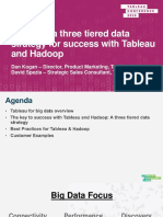 BRK53935 PPT Applying a Three Tiered Hadoop