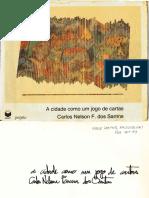 LIVRO Carlos Nelson F dos Santos - A Cidade como um Jogo de Cartas.pdf