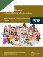 Antonio Gramsci. Subjetividades y saberes sociales