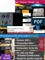 Demonetization and Soil Rate