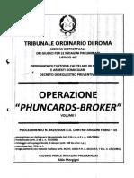 Phunchards-Broker Ordinanza integrale del Gip di Roma Parte 1
