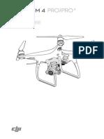 Manual de Usuario Phantom 4 Pro y Pro Plus