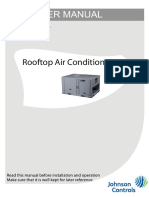 York Packaged Unit China (CM Brochure Ummhzcan Cooling Rooftop)