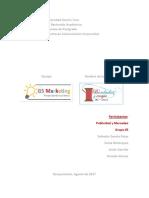 Publicidad y Mercadeo - Proyecto G5 Marketing, Bordado y Encaje Alfa-Caracas