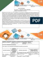 Guia de actividades y rubrica de evalaución Unidad 2 Fase 4 Evalaución Social y Ambienntal.docx