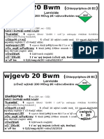 20 Ltrs Drum Label (Chlorpyriphos)
