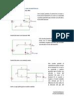 Control de Motores Con Transistores
