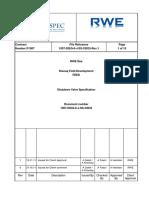1007 DISQ 0 J SS 33033 Shutdown Valve Specification