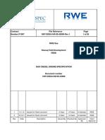 1007 Disq 0 m Ss 42008 Rev 2 Gas Diesel Engine Specification