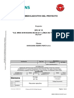 1. Resumen Ejecutivo Del Proyecto- AMPLIACION SE SHOUGANG 60 kV