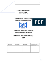 Plan de Manejo Ambiental Transporte2017-V4