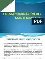 3-La Estandarizacion Del Mantenimiento