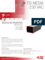 CET Power - MEDIA 230Vac Datasheet - V1.2