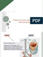 Farmacología Del Sistema Respiratorio I