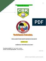 Regulamento de Arbitragem WKF 2017
