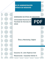 Ética y Marketing Digital