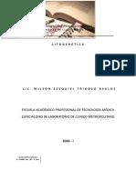 Silabo de Citogenetica 2016