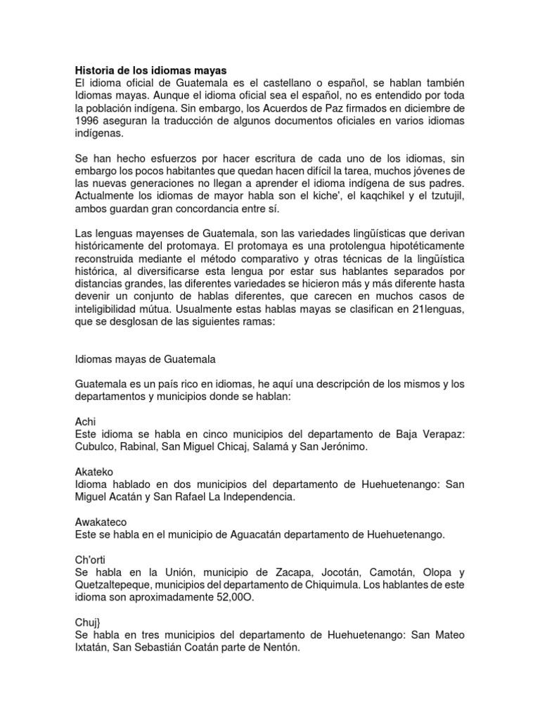 Historia de los idiomas mayas ccuart Image collections