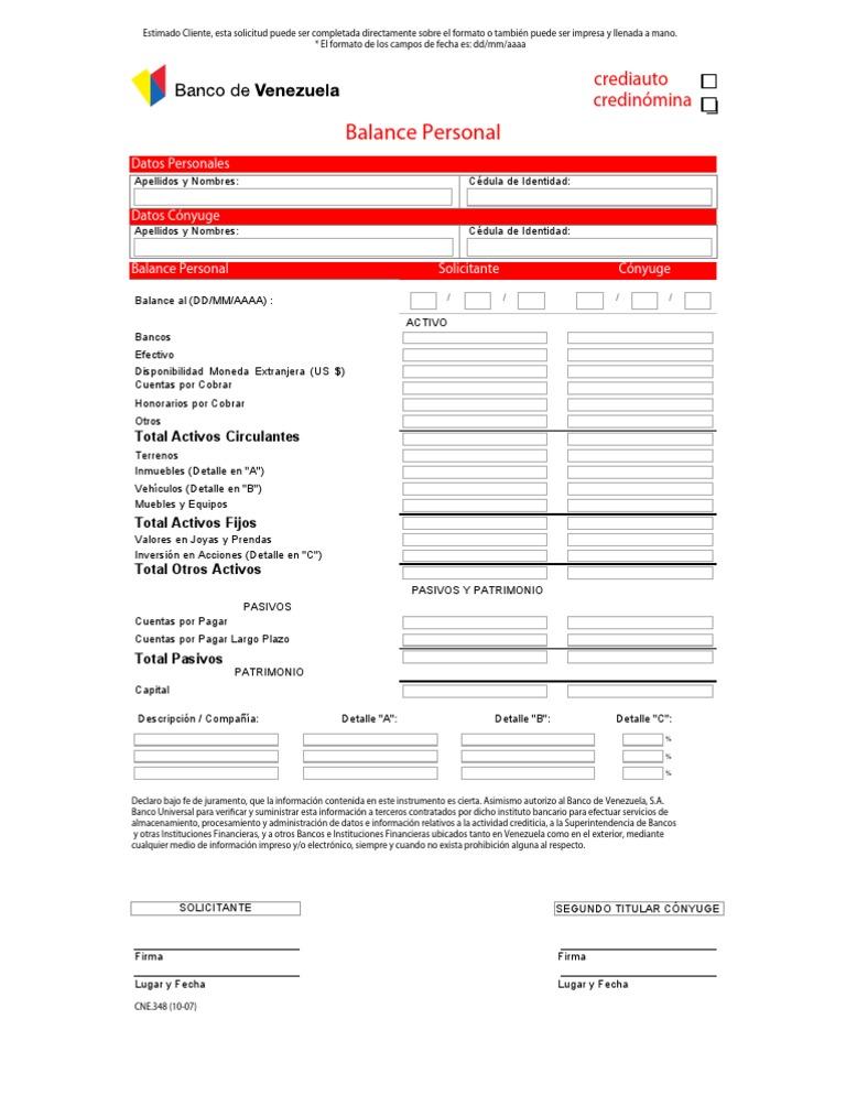 planilla credito personal banco bicentenario On planilla de solicitud de tarjeta de credito banco bicentenario
