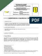 Laboratorio No. 3 Open Ims Core - Sip & Rtp