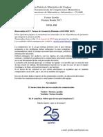 Torneo Geodin - 1PRI17