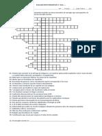 2017 5° EVALUACIÓN FORMATIVA puzzle Tema 1 Unidad 2 ENCUENTRO MUNDOS