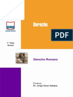 Derecho Romano - Modulo