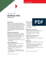 Pfa Properties Bulletin