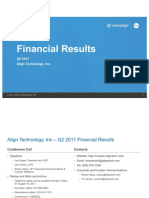 ALGN Q217 Financial Slides 072717