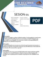 SESION 01 Legislación e Inserción Laboral