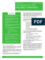 Communiciable Disease 1