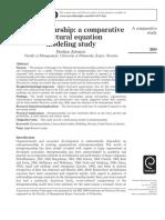 2007 Antoncic a Comparative SEM Study