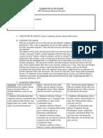 ss lesson plan 3-15-17
