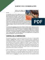 Pescado Higiene y Su Conservación