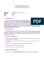 Programa Biologia Dra. Jocholá 2013