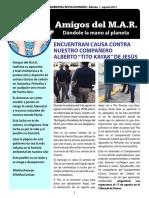 Publicación digital de Amigos del MAR_ed1_ago17