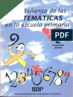 La Enseñanza de Las Matemáticas en La Escuela Primaria. Taller Para Maestros. Segunda Parte