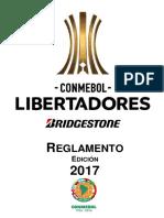 Reglamento Conmebol Libertadores Bridgestone 2017 19-01-17