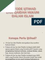 4. Metode Ijtihad Dalam Islam
