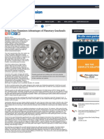 Drive Lines Examines Advantages of Planetary Gearheads